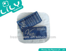 beauty salon refreshing face wet wipes tissue