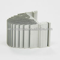 Factory Custom made aluminium extrusion shell for electronic amplifiers