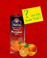 Netto 100% Natural Orange and Apple Juice
