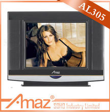 "China Made 14""CRT TV hot sell xxxl sexy full hd small crt tv"