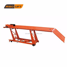 hot product hydraulic motorcycle lift table for sale