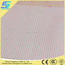 100% Polyester Stiff Mesh Fabric with Stocklot