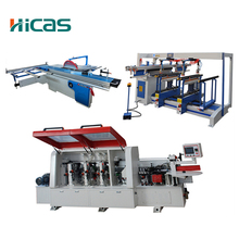 Woodworking Sliding table saw/boring /edge banding machine for panel board furniture production