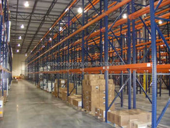 Selective Palleting Racking for Warehouse Storage Shelves