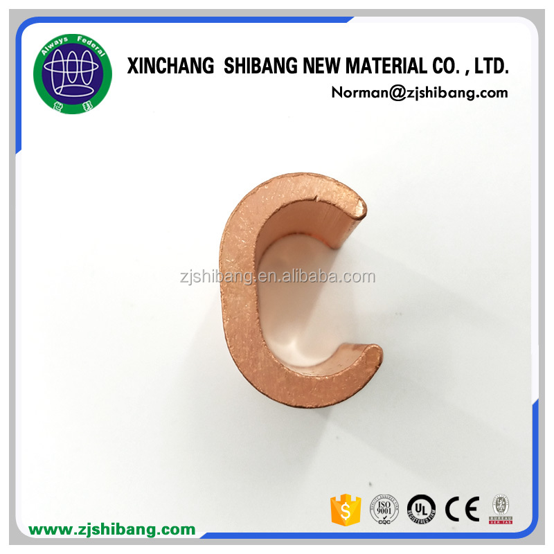 Copper Earth Ground Rod C Clamp