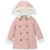 2016 Kids Winter Fur Jackets Childs Coat Lion Good Quality Top Selling Low Price Cotton Carters Children Winter Frozen Clothes