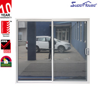 Superhouse Australia standard double glazed aluminium safety glass window and door