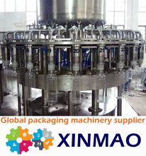 hot beverage filling production line /juice manufactured unit/gravity filler solid fruit