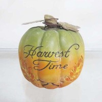 ODM decorative polyresin pumpkin for harvest time