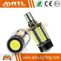 Aluminum housing wllighting factory high power led car light t15 1.5w led+15smd