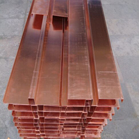 Copper water stop or bottle used for industrial and civil building insulation system