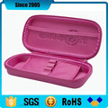 pink pu leather eva pencil storage case for teenagers