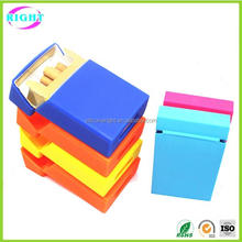 Cute silicone women cigarette case for cigarette
