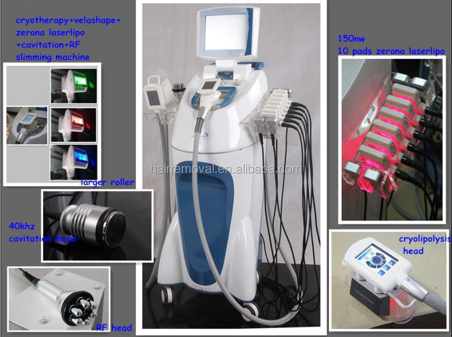 The 3rd Generation Cavitation New Cryo Liposuction V9 III Slimming Machine