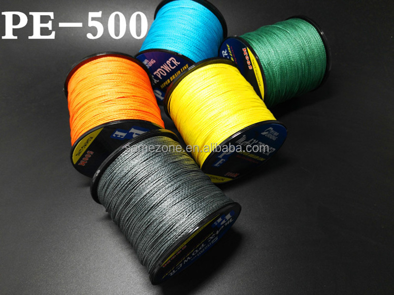 bulk fishing line 500M braided