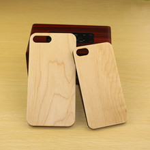 popular custom design engraving bamboo wood phone case for iphone 7,mobile phone accessories