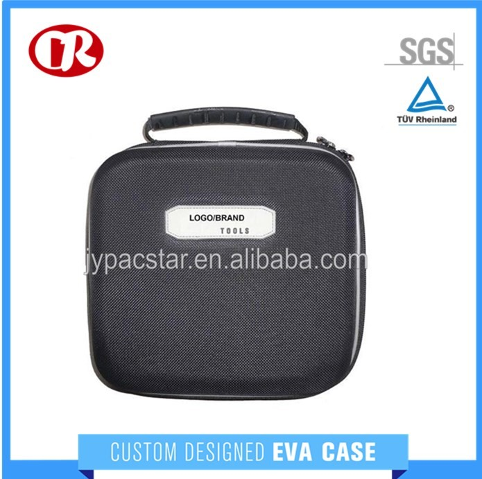Customized 1680D polyester surface hard eva case for tool