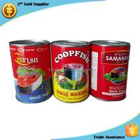 high quality Sri Lanka canned mackerel fish cheap Sri Lanka food from China
