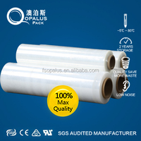 soft casting lldpe stretch wrap plastic packing film jumbo roll