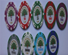 Customizable , Ultimate Cash Game Chips, High quality Ceramic Chips