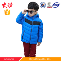 hotsales children clothing windproof Jacket baby boy clothes for kid clothings winter JacketS