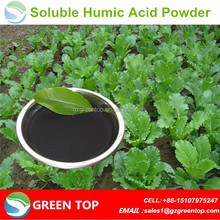 Manufacturer of humic acid sodium humus plus organic fertilizer