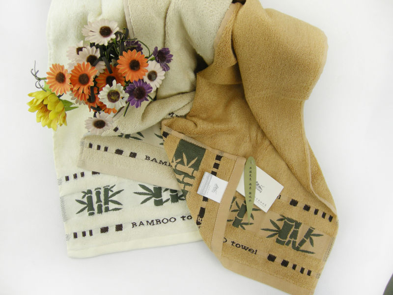 Bamboo Bath Towel Bamboo Embroidered