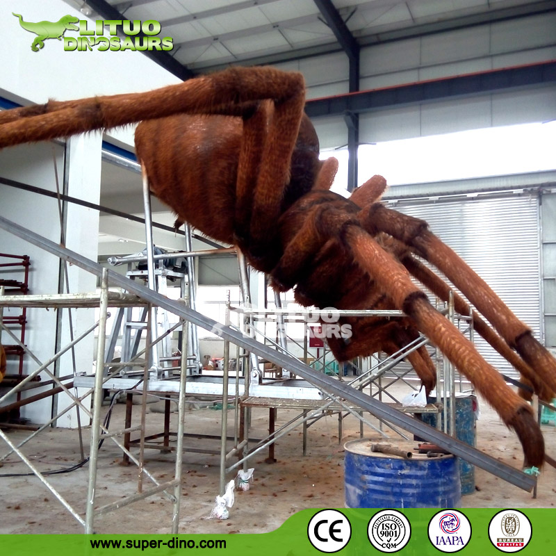 Huge Size Animatronic Mechanical Spider Model