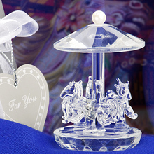 Wedding Return Gifts Carousel Crystal Gift