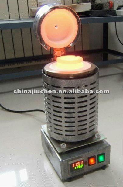 1300C portable small gold melting furnace for sale