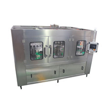 Canned soda drink filling production line carbonated energy drink canning machine