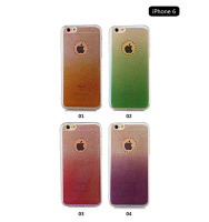 High quality glitter Gradual change mobile phone case for iPhone 5 case