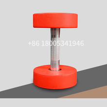 Shandong commercial arm exercise PU dumbbell / dumbbell set for gym