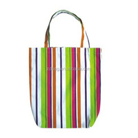 Custom order canvas tote bags with zipper closure