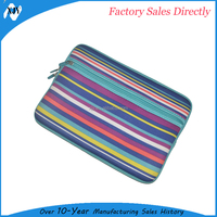 Colorful Neoprene Laptop Case, Neoprene Bag, Waterproof Laptop Pouch