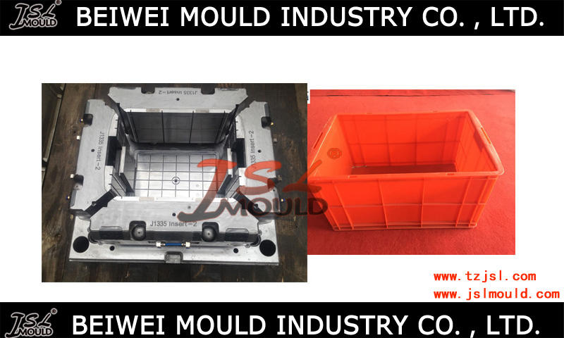 Various plastic crate box mould,turnover boxes mold making