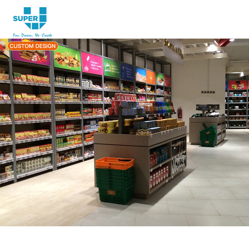 Creative Ideas Customize Shop Fittings Supermarket Display Fixtures Equipments