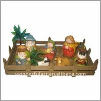 Ceramic Religious Nativity Craft