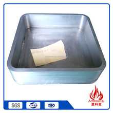 Chinese promotional items tungsten crucible for vacuum evaporation