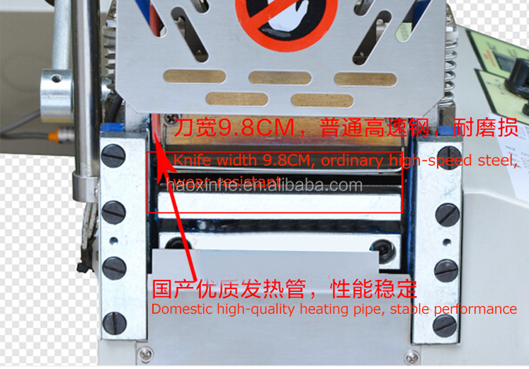 All kinds of Shape PP Nylon Tape Cutting Machine With Hardware Die Cutter