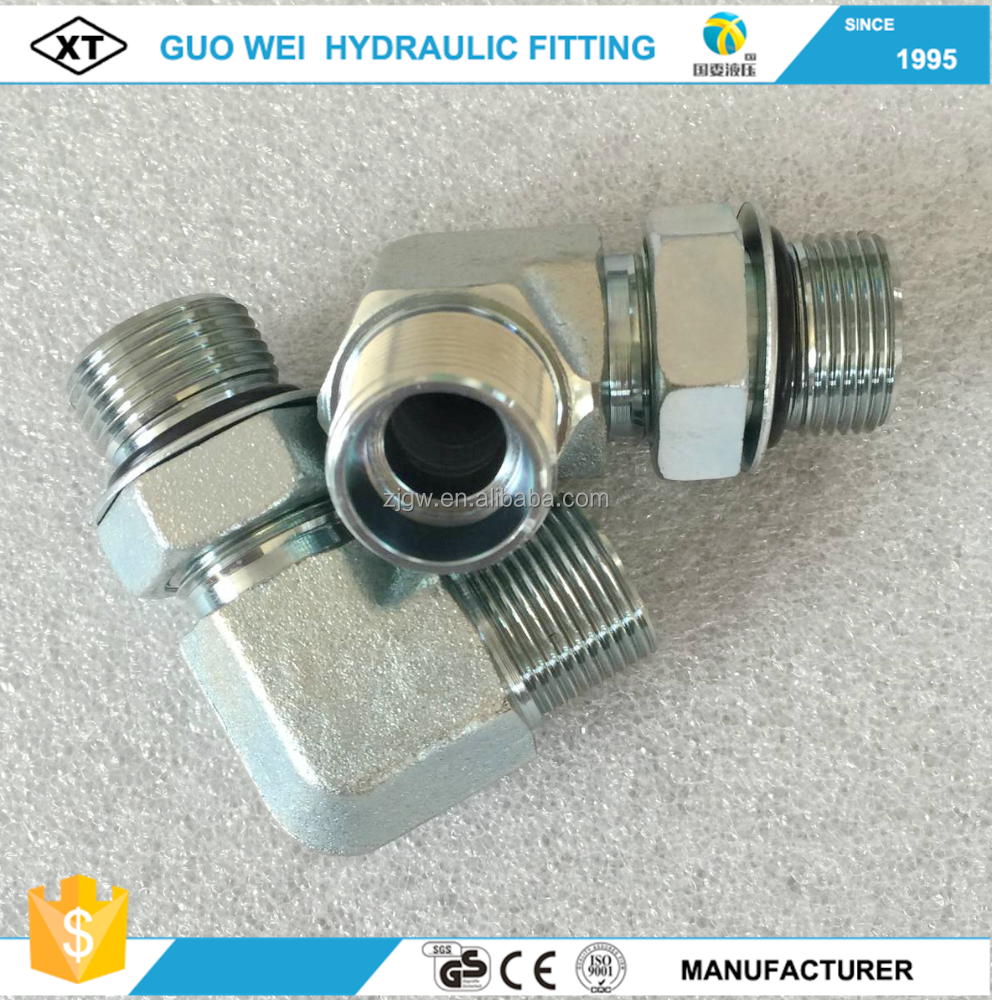 Low price! CNC manufacture adjustable bulkhead fittings hydraulic connectors