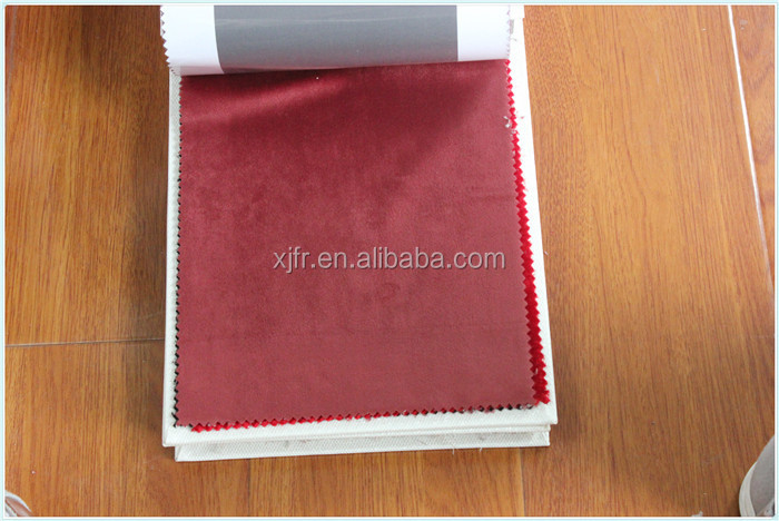 100% polyester China Factory price with passed BS5867 and B1 and M1 retardant velvet fabric for furniture cover and blacket
