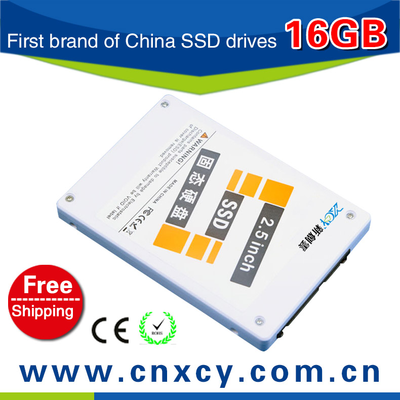 SSD,solid state drive,2.5 hdd ssd drive 16GB SATA ,Read 69.3MB/S, Write 21.8MB/s,3years warranty