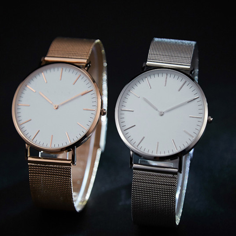 2017 Luxury Concepts Stainless Steel Couple Watch