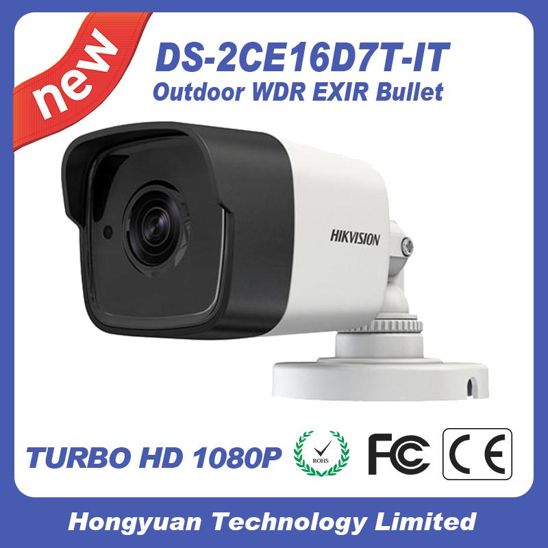 cctv hikvision tvi 1080p cctv camera bullet DS-2CE16D7T-IT original factory cheap price