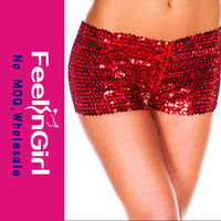 Wholesale Hot Sale Red Sequins Shiny G String Tiny g string