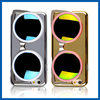 C&T Luxury Fashion Sunglasses Mirror Electroplating Case Cover For iPhone 6 4.7 3D Case