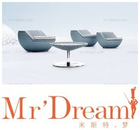 MR DREAM outdoor furniture garden rattan table and chair CF28-GOLF