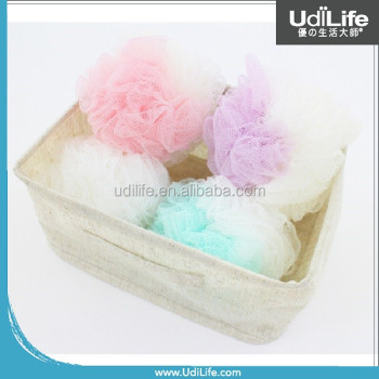 Net Bath Sponge With Rope