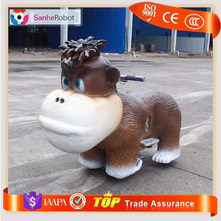 Children amusement District riding animal 12v electric car for kids